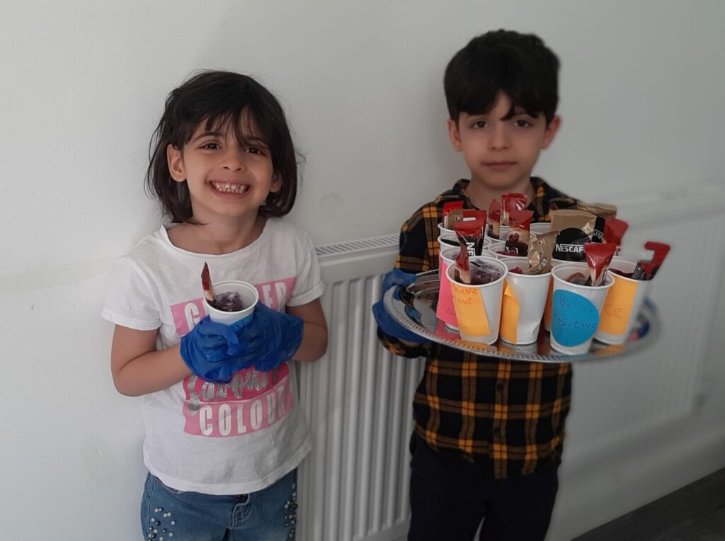 What we do - Syrian children receive support as part of the Resettlement Programme